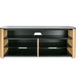 Finewoods Soundbar 1350 TV Stand - Light Oak