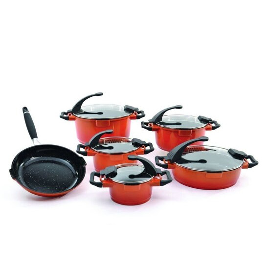 BergHOFF Virgo 11 Piece Cookware Set