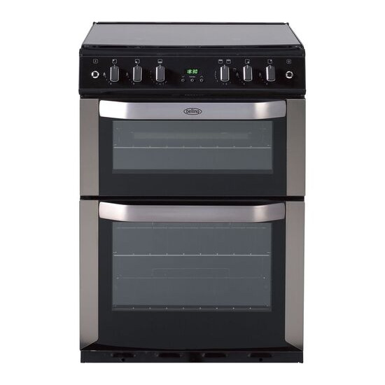 Belling FSG 60 DOP STA 60 cm Gas Cooker Stainless Steel