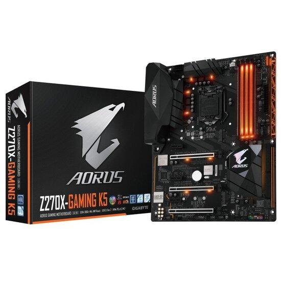 Gigabyte AORUS GA-Z270X-Gaming K5 LGA 1151 ATX Motherboard