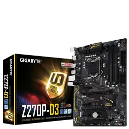 Gigabyte GA-Z270P-D3 Motherboard Reviews