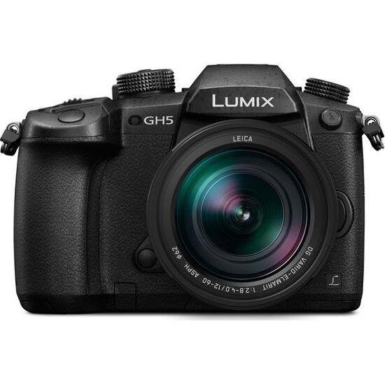 Panasonic Lumix DMC-GH5 Mirrorless Camera + Leica 12-60mm f/2.8-4.0 Lens