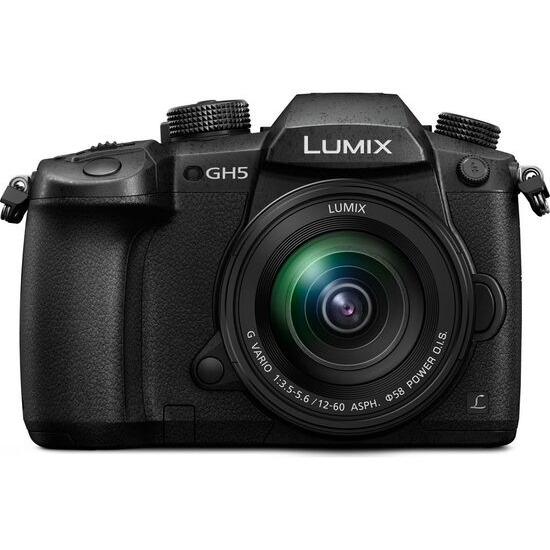 Panasonic Lumix DMC-GH5 Mirrorless Camera + Panasonic Lumix 12-60mm f/3.5-5.6 Lens