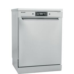 Sharp QW-GT34F463I Full-size Dishwasher - Stainless Steel Reviews
