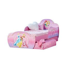 Disney Princess Toddler Bed with Storage Reviews