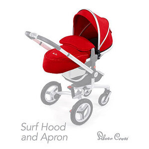 Photo of Silver Cross Surf Hood and Apron Colour Pac Baby Product