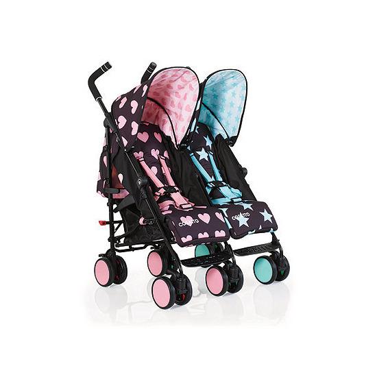 Cosatto Supa Dupa Go Twin Stroller