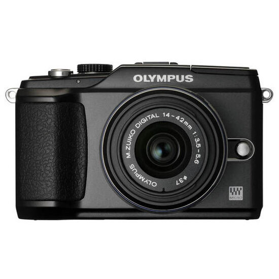 Olympus E-PL2 with 14-42mm lens