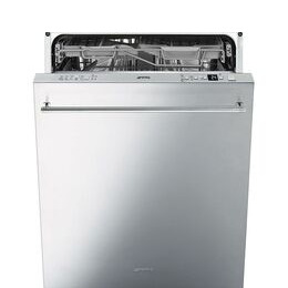 SMEG  DI614PSS Full-size Semi-integrated Dishwasher - Stainless steel Reviews