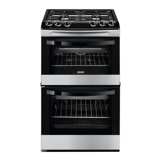 Zanussi ZCG43010XA 55 cm Gas Cooker Stainless Steel
