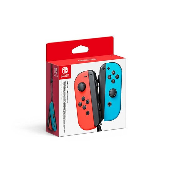 Nintendo Switch Joy-Con Controller Pair - Neon Red/Neon Blue