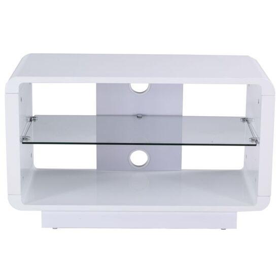 Luna 800 TV Stand - White
