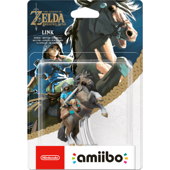 Nintendo Link (Rider) amiibo (The Legend of Zelda: Breath of the Wild Collection)