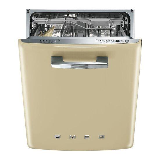 SMEG  DI6FABCR Integrated Full-size Dishwasher - Cream