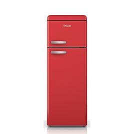 Swan SR11010RN Fridge Freezer - Red Reviews
