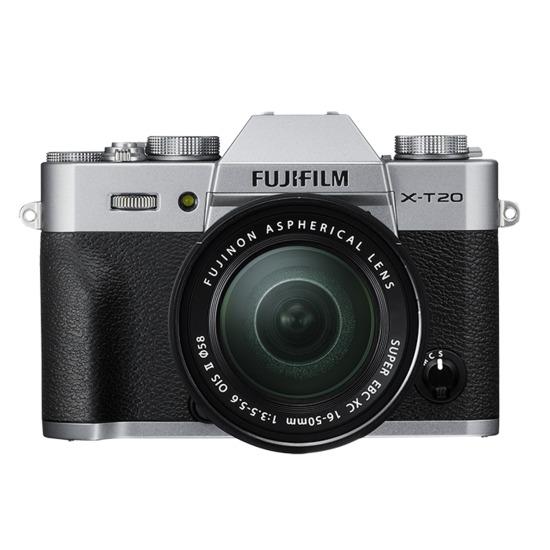 Fujifilm X-T20 with XC 16-50mm MK II Lens