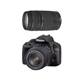 Canon EOS 100D + EF-S 18-55mm + STM 75-300mm