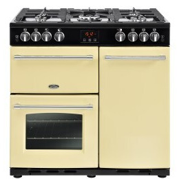 Belling Farmhouse 90G 90cm Gas Range Cooker Cream Reviews