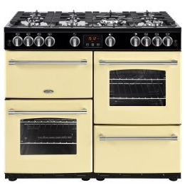 Belling Farmhouse 100G 100cm Gas Range Cooker Cream Reviews
