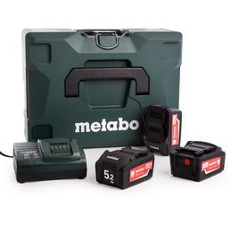 Metabo 685062000 Basic Set 3 x 18V 5.2Ah Batteries, ASC30-36V Charger in Case Reviews