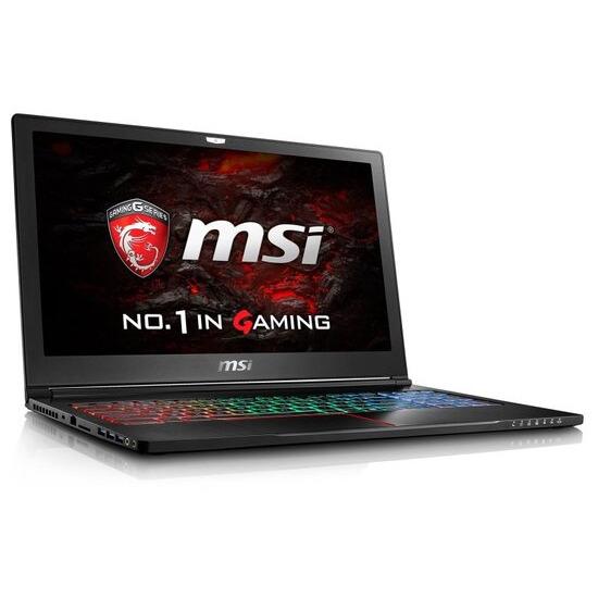 MSI GS63VR 7RF(Stealth Pro)-212UK Gaming Laptop Kabylake i7-7700HQ 2.8GHz 16GB DDR4 256GB SSD 2TB HDD 15.6 FHD No-DVD NIVIDA GTX 1060 6GB WIFI Windows 10 Home