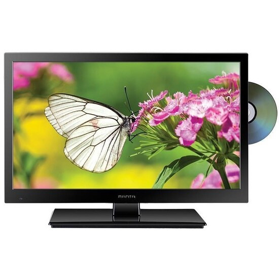 Manta LED1503 15.6 Dual Voltage LED TV with built-in DVD Player