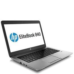 HP EliteBook 840 G4 Laptop Intel Core i5-7200U 2.5 GHz 4GB DDR4 RAM 256GB SSD 14 FHD No-DVD Intel HD WIFI Bluetooth Webcam Windows 10 Pro