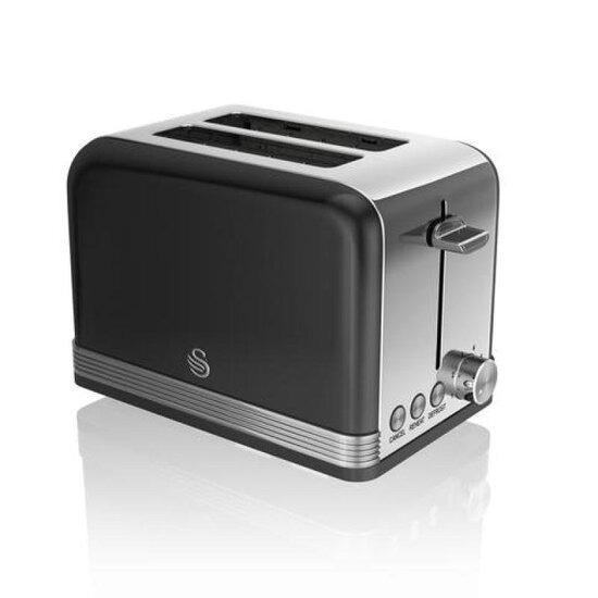 SWAN ST19010BN 2-Slice Toaster - Black