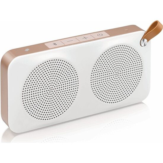 JVC JVC SP-AD60-M Portable Wireless Speaker & Gold