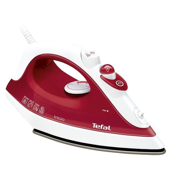 Tefal Inicio FV1251 Steam Iron - Red
