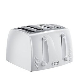 Russell Hobbs Textures 4 Slice Toaster White Reviews