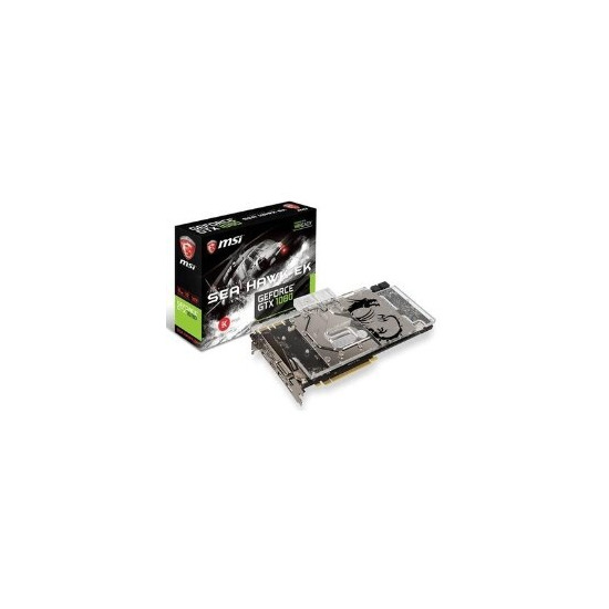 MSI GeForce GTX 1080 Sea Hawk EK GDDR5 PCI-E Graphics Card