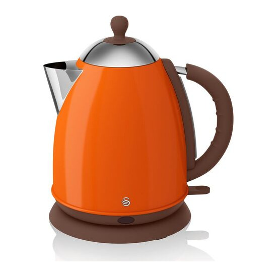 Swan SK261050ON Jug Kettle - Orange