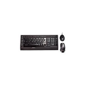 Photo of Labtec Laser Wireless Desktop 1200 - Keyboard - Wireless - RF - Mouse - USB Wireless Receiver - English - United Kindom Keyboard