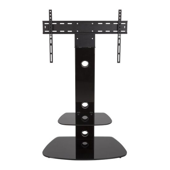 Reflections FSL700LUCB Lucerne TV Stand with Bracket - Black
