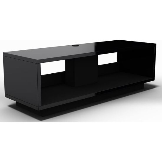 SCHNEPEL VariC 2.0 TV Stand - Black Gloss