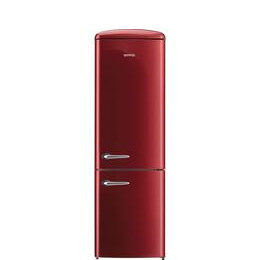 Gorenje ONRK193R Fridge Freezer - Burgundy Reviews