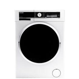 Sharp ES-GFD8145W5 Washing Machine - White
