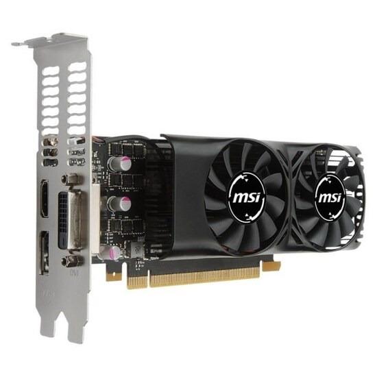 MSI GeForce GTX 1050Ti 4GT LP 4GB Graphics Card
