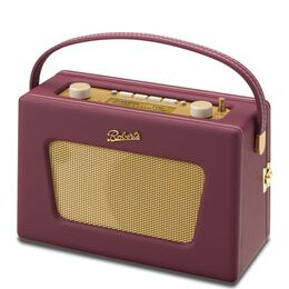 Roberts Sovereign Portable DAB+/FM Clock Radio - Burgundy Reviews