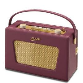 Roberts Sovereign Portable DAB+/FM Clock Radio - Burgundy Reviews