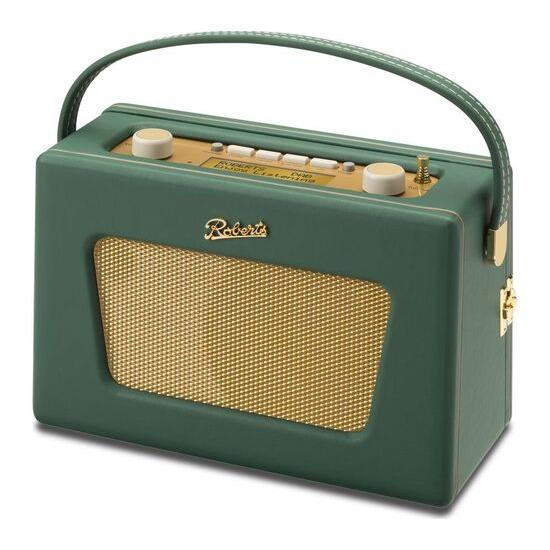 Roberts Sovereign Portable DAB+/FM Clock Radio - Windsor Green