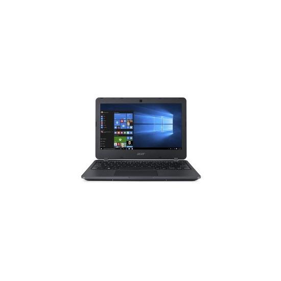 ACER TravelMate B117-M-C80X 11.6 Intel Celeron N3050 1.6GHz 4GB 128GB SSD Windows 10 Laptop