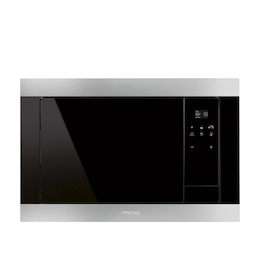 SMEG FMI320X Stainless steel Built in classic 600mm microwave oven with grill Reviews