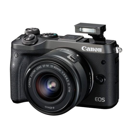 Canon EOS M6 + 15-45mm Lens