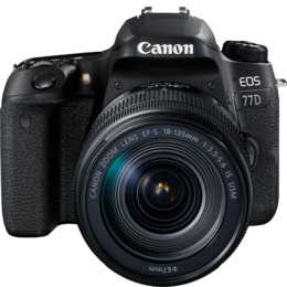 Canon EOS 77D Digital SLR + 18-135mm STM Lens Reviews
