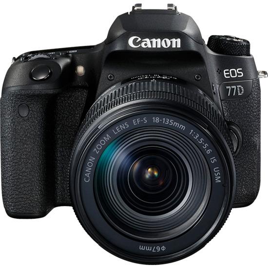 Canon EOS 77D Digital SLR + 18-135mm STM Lens