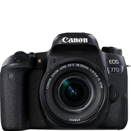 Canon EOS 77D Digital SLR + 18-55mm STM Lens Reviews
