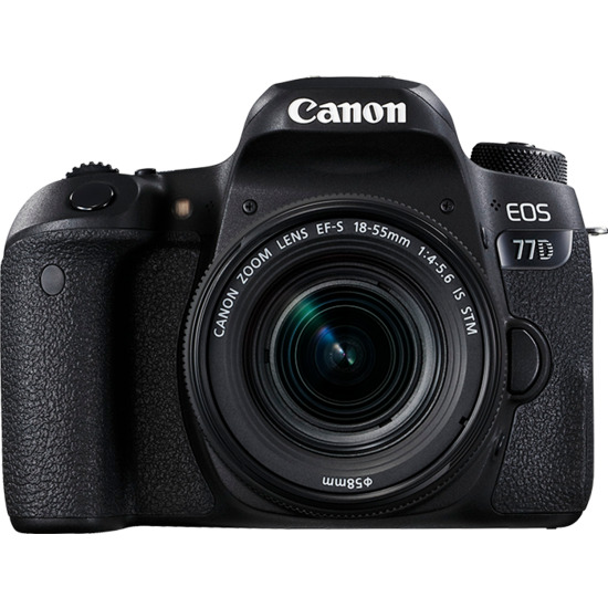 Canon EOS 77D Digital SLR + 18-55mm STM Lens