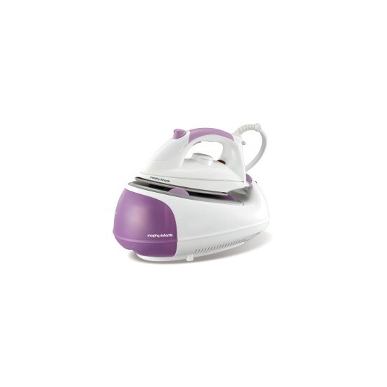 Morphy Richards 333019 Steam Generator Ceramic Sole Plate White And